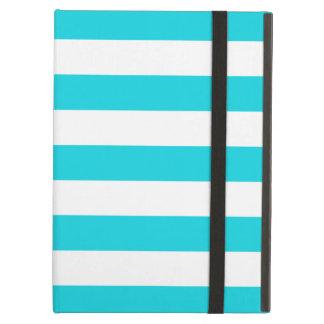 Caja intrépida del aire del iPad de la aguamarina