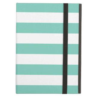 Caja intrépida del aire del iPad de la turquesa de