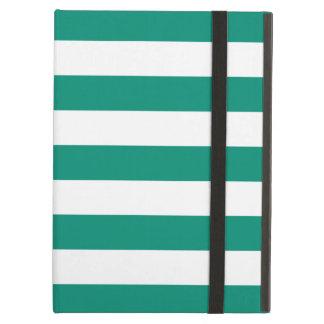 Caja intrépida del aire del iPad del verde