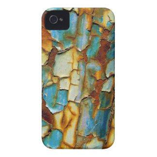 Caja intrépida oxidada azul de Blackberry de la iPhone 4 Carcasas