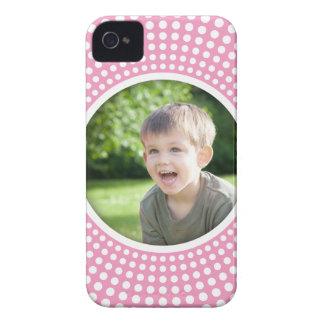 Caja intrépida personalizada rosa de Blackberry de iPhone 4 Cárcasa