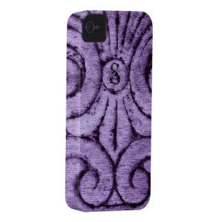Caja intrépida (púrpura) de Blackberry del diseño iPhone 4 Case-Mate Carcasa