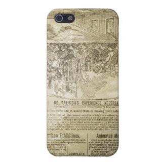 Caja iPhone4 de la mota de la impresión del periód iPhone 5 Funda
