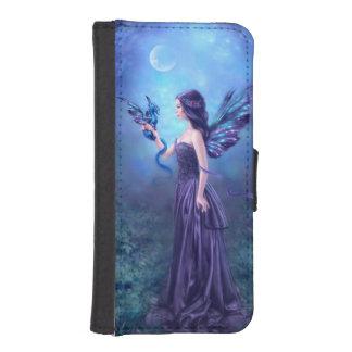 Caja iridiscente de la cartera del iPhone del arte Fundas Cartera De iPhone 5