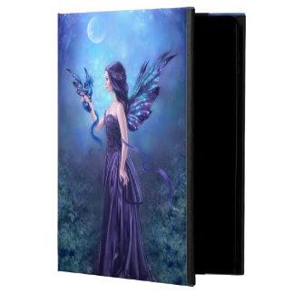 Caja iridiscente del aire del iPad del arte de la