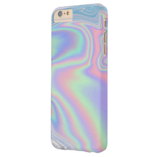 Caja iridiscente del teléfono funda para iPhone 6 plus barely there