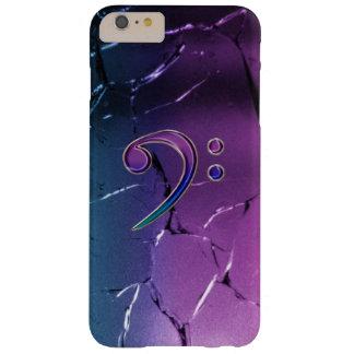 Caja iridiscente oscura del iPhone 5 del Clef bajo Funda De iPhone 6 Plus Barely There