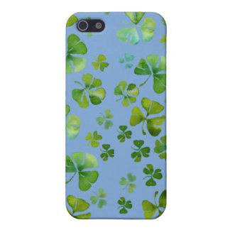 Caja irlandesa de la mota del trébol iPhone 5 carcasas