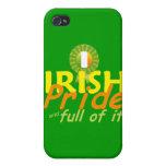 Caja IRLANDESA de la mota iPhone 4 Cárcasa