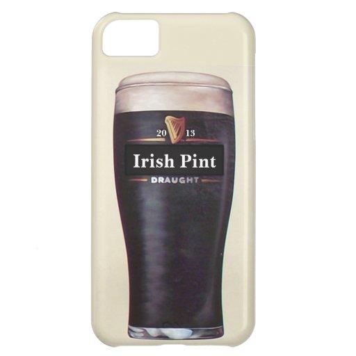 Caja irlandesa del teléfono de la pinta carcasa iPhone 5C