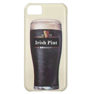 Caja irlandesa del teléfono de la pinta