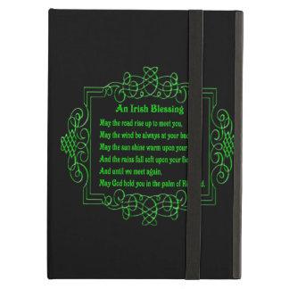 Caja irlandesa personalizada del iPad de la