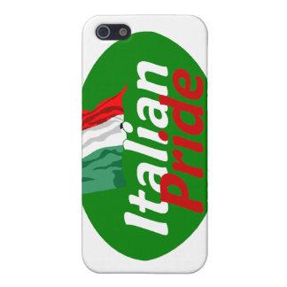 Caja italiana de la mota del orgullo iPhone 5 carcasas