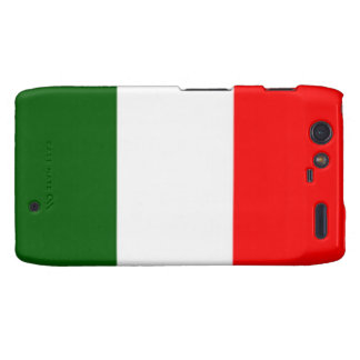 Caja italiana del teléfono de Droid Razr de la ban Motorola Droid RAZR Funda