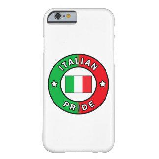 Caja italiana del teléfono del orgullo funda para iPhone 6 barely there
