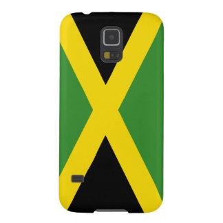Caja jamaicana de la galaxia de Samsung de la band Carcasas Para Galaxy S5