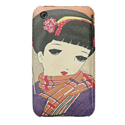 Caja japonesa de la casamata de la curva de iPhone 3 Case-Mate carcasa