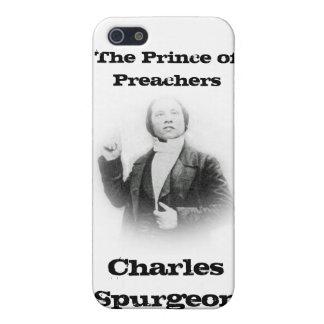 Caja joven de la mota de Spurgeon del pastor iPhone 5 Fundas