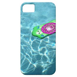 Caja lateral del teléfono de la piscina iPhone 5 cárcasa