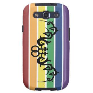 Caja lesbiana tribal de la galaxia S3 de Samsung d Galaxy S3 Cobertura