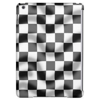 Caja leve del aire del iPad de la ondulación de la