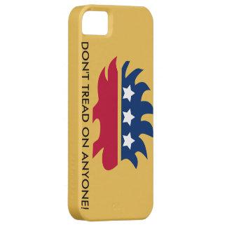 Caja libertaria del teléfono del logotipo iPhone 5 funda