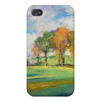 Caja ligera del iPhone 4 del otoño iPhone 4 Funda