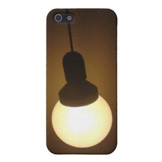 Caja ligera enrgy de ahorro del iPhone del buld iPhone 5 Cárcasas