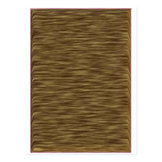 Caja linda agradable de madera plana de la piel postal