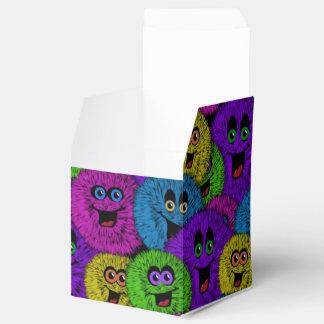 Caja linda amistosa del favor del cubo de las caja para regalo de boda