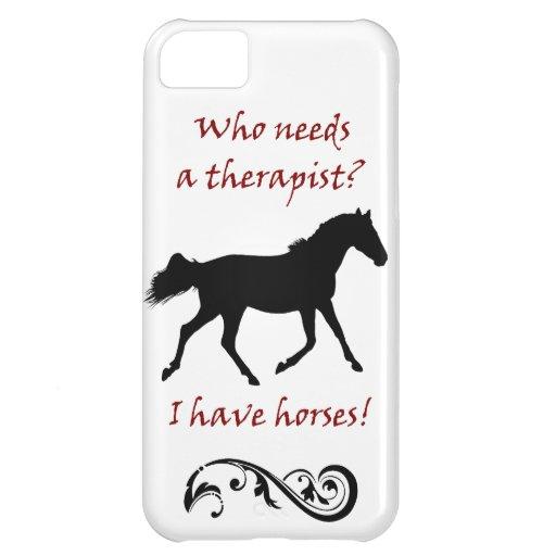 Caja linda de la casamata del iPhone 5 del terapeu