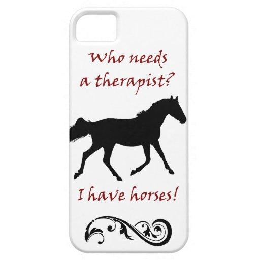 Caja linda de la casamata del iPhone 5 del terapeu iPhone 5 Case-Mate Fundas