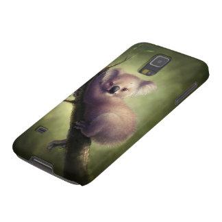Caja linda de la galaxia S5 de Samsung del oso de Carcasa Galaxy S5