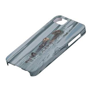 caja linda de los pares iphone6 de la nutria de iPhone 5 Case-Mate cobertura