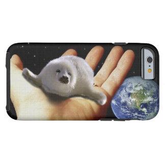 Caja linda del Fauna-Partidario del arte de la Funda Para iPhone 6 Tough