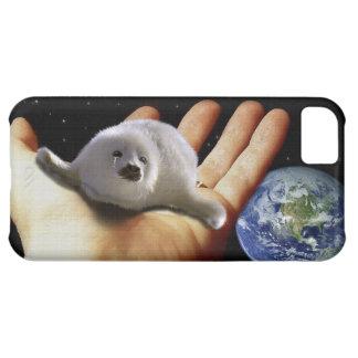 Caja linda del Fauna-Partidario del arte de la Funda Para iPhone 5C