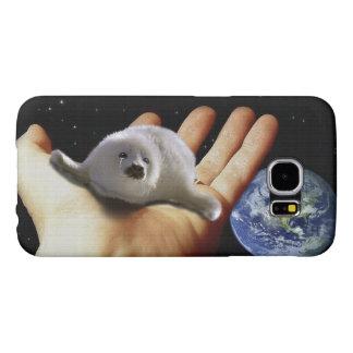 Caja linda del Fauna-Partidario del arte de la Fundas Samsung Galaxy S6
