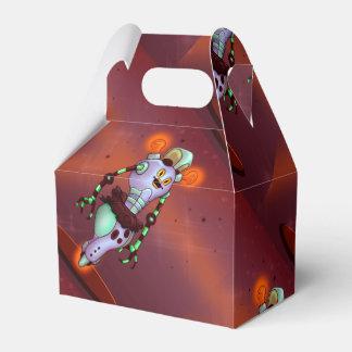 Caja LINDA del favor del ROBOT   del DIBUJO Cajas Para Regalos De Fiestas