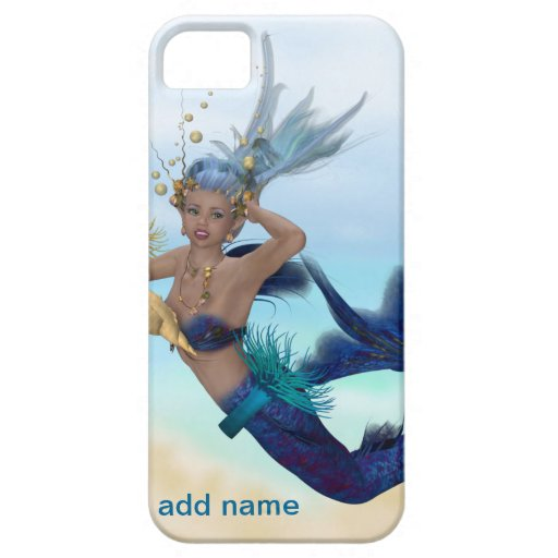 Caja LINDA del teléfono 5 de la sirena I iPhone 5 Case-Mate Cárcasas