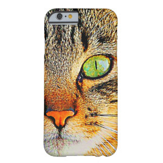Caja linda del teléfono 6 del gato I Funda De iPhone 6 Barely There
