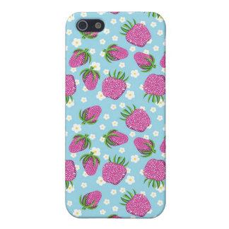 Caja linda del teléfono de la fresa iPhone 5 fundas