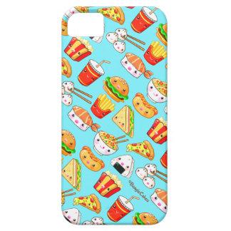 Caja linda del teléfono de las comidas funda para iPhone 5 barely there
