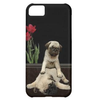 Caja linda del teléfono de los Perro-amantes de lo