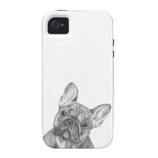 Caja linda del teléfono del iPhone 4/4s del dogo Vibe iPhone 4 Carcasas