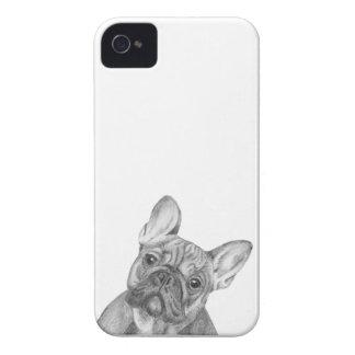 Caja linda del teléfono del iPhone 4/4s del dogo iPhone 4 Case-Mate Cárcasa