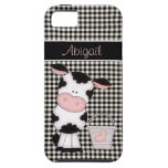 Caja linda personalizada del iPhone 5 de la vaca iPhone 5 Case-Mate Cárcasa