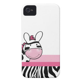 Caja linda rosada del teléfono de Blackberry de la Case-Mate iPhone 4 Cobertura
