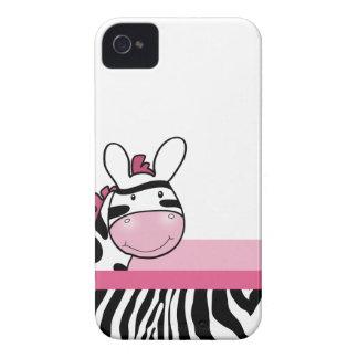 Caja linda rosada del teléfono de Blackberry de la iPhone 4 Case-Mate Funda