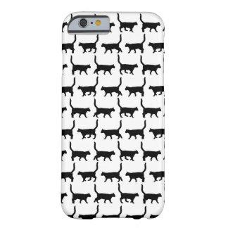 Caja linda S del iPhone 6 de los gatos negros de Funda De iPhone 6 Slim