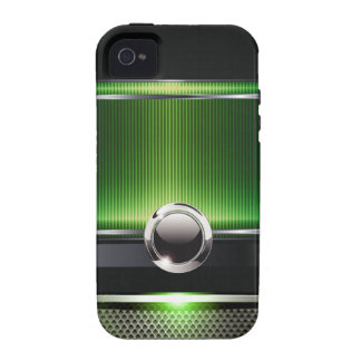 Caja lisa euro lujosa del teléfono del diseñador carcasa vibe iPhone 4